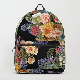 Lush Baroque Floral Backpack