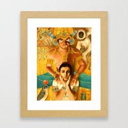 Isis & Ravana Framed Art Print