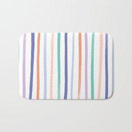 Fruit Stripes - Blueberry Bath Mat