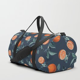 Lemon and Leaf Pattern VI Duffle Bag