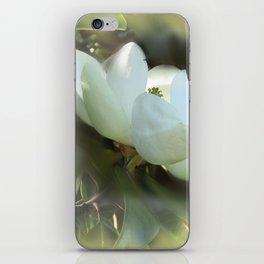 Magnolia Kiss iPhone Skin