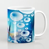 pisces Mugs featuring Pisces. by capricorn