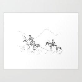 Blackfoot Art Print