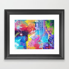 Vivid Thoughts 2 Framed Art Print