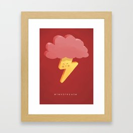 Electrocute Framed Art Print