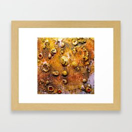 Bubble Effect Framed Art Print