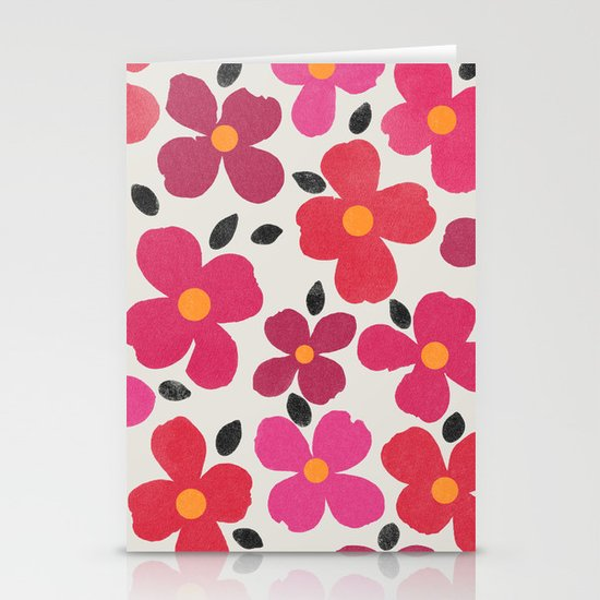 dogwood 4 Stationery Cards