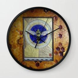 Dance of the Honey Bee Wall Clock