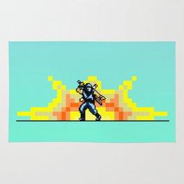 Ninja 8bit Rug