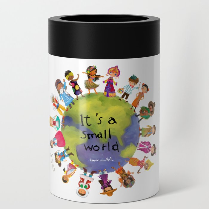 It's a Small World Can Cooler