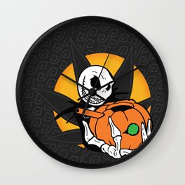 Jack's Pumpkin Bong Wall Clock