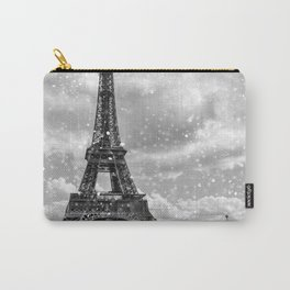 Snow in Paris Carry-All Pouch