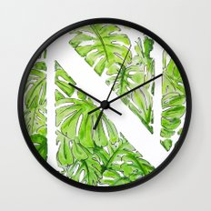 Letter N Wall Clock