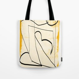 Abstract line art 4 Tote Bag
