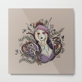 Queen of the Banshee Metal Print