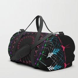 Sacred Geometry radial Mandala Duffle Bag