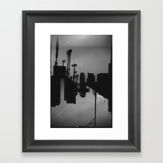 Landscapes (35mm Double Exposure) Framed Art Print