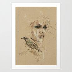 [Crow] Art Print