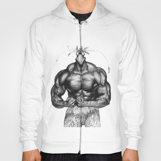 strong cock Hoody