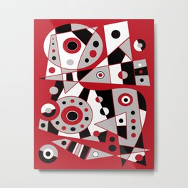 Abstract #953 Metal Print