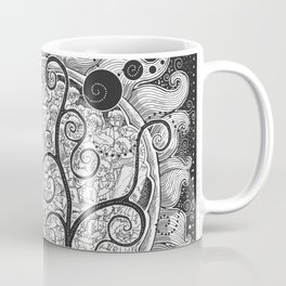 The White Noise Coffee Mug