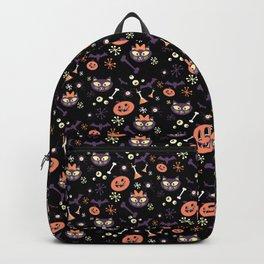 eek, boo, and treats Backpack