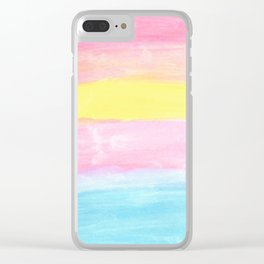 Sunrise on the Horizon Clear iPhone Case