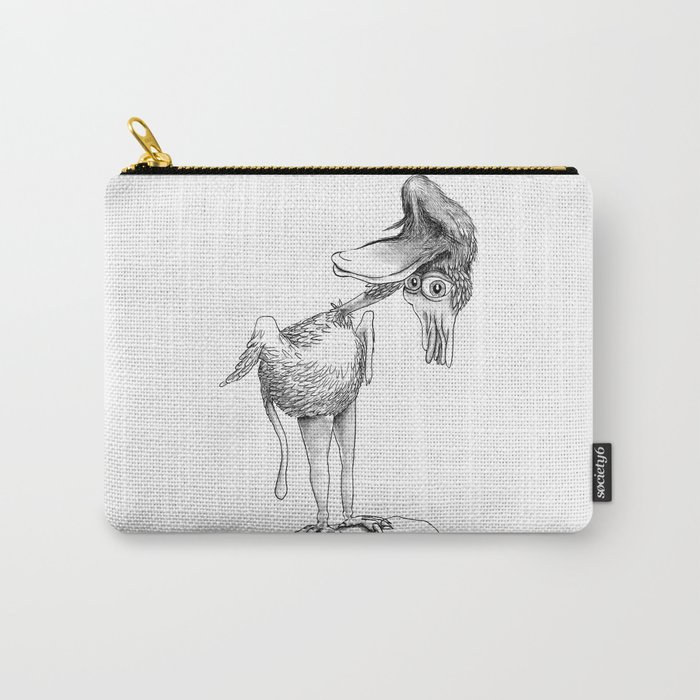 Crazy Bird Carry-All Pouch
