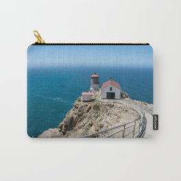 Point Reyes Lighthouse on the Pacific Ocean Carry-All Pouch