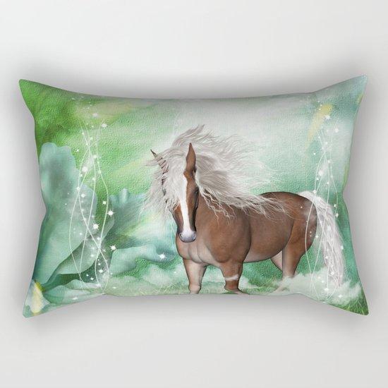 Beautiful horse Rectangular Pillow