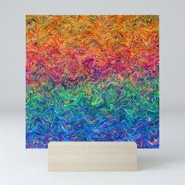 Fluid Colors G249 Mini Art Print