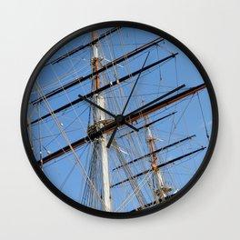 Cutty Sark Sails Wall Clock