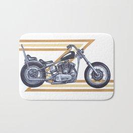 Shovelhead Motorcycle Bath Mat
