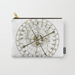 metal astronomical clock Carry-All Pouch
