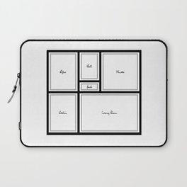 Little Apartment Plan Laptop Sleeve
