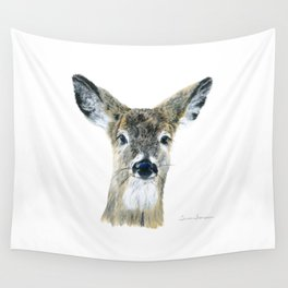 Doe Eyes by Teresa Thompson Wall Tapestry