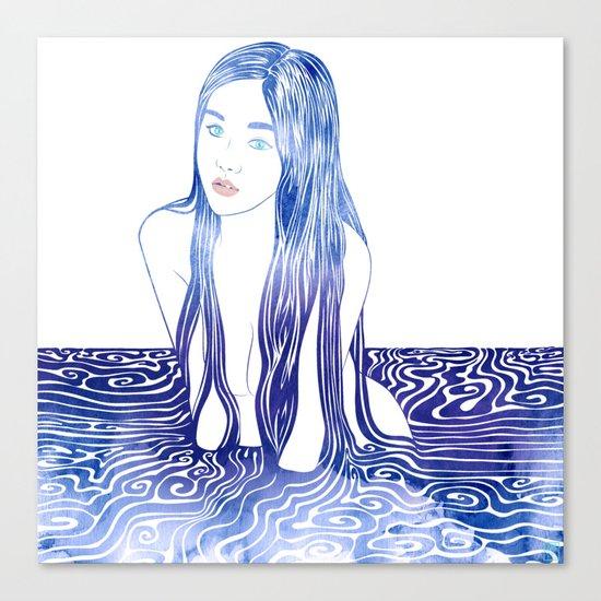 Water Nymph L Canvas Print
