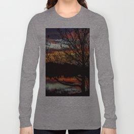 Halibut Point Sunset Long Sleeve T-shirt