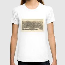 Aerial View of Saint Paul, Minnesota (1906) T-shirt