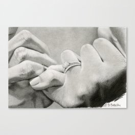 Love's Promise Canvas Print