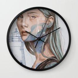 Lighthouse (Faro) Wall Clock