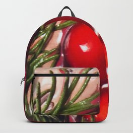 Tis the season - cranberry toast to the holiday Backpack