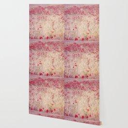 Fields of poppies Wallpaper