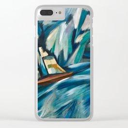 A Chalupa - Amadeo de Souza Cardoso - Portuguese Colorful Expressionism Clear iPhone Case