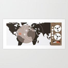 Thunderball Art Print