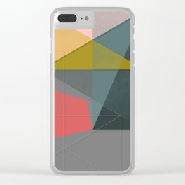 Canvas #4 Clear iPhone Case