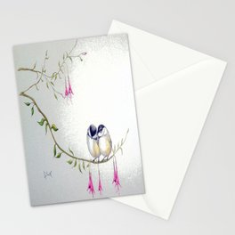 Two Chickadees Stationery Cards