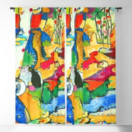 Wassily Kandinsky Composition II Blackout Curtain