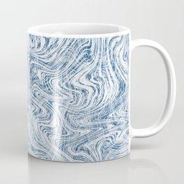 Navy Blue Smoke Screen Coffee Mug