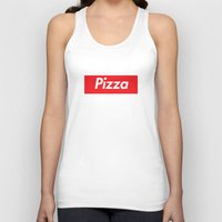 supreme Tank Tops featuring Supreme Pizza by RexLambo